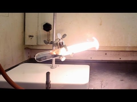 Making Magnesium Silicide And Explosive Silane Gas