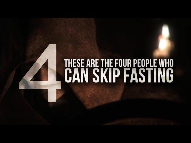 4 People Who Can Skip Fasting in Ramadan