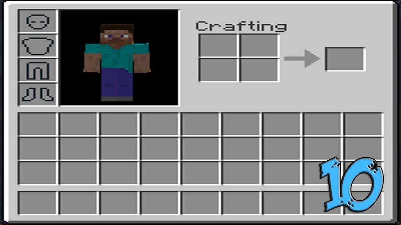 Minecraft - Envanter Hakkında Bilinmeyen 10 Şey
