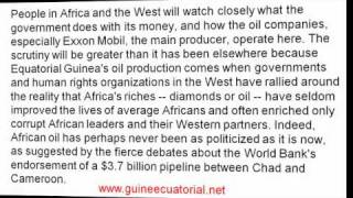 equatorial guinea oil riches