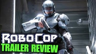 Robocop (2014)  official movie trailer review