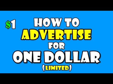 How To Have YouTube Ads for $1 (explained)