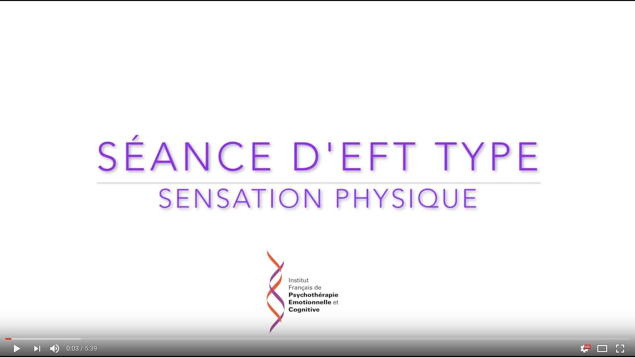 Pratiquer l'EFT sur une sensation physique présente