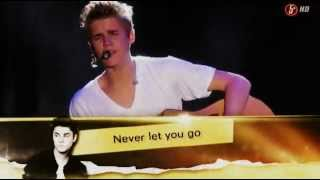 Download Justin Bieber - Never let you go acoustic in Mexico 2012 Mp3 and Videos