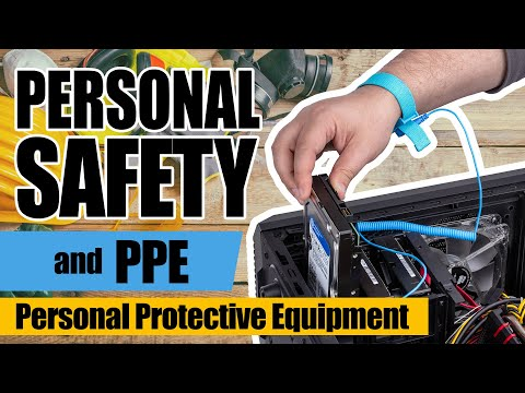 Personal Safety And PPE Or Personal Protective Equipment | Computer Systems Servicing Guide