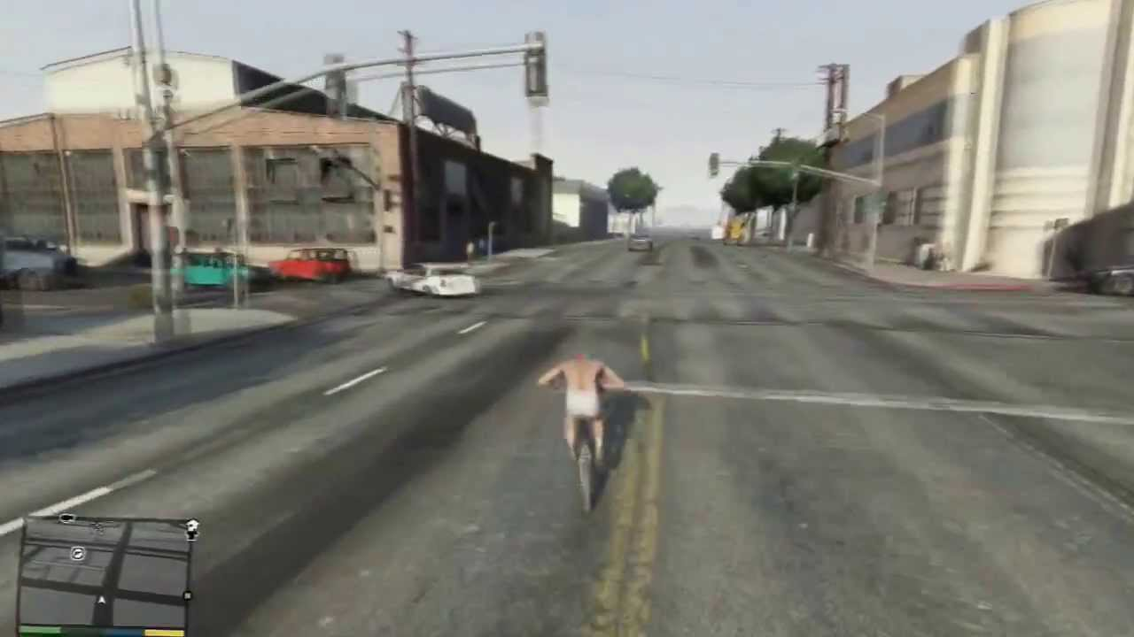 Gta 5 How To Go Faster On Bmx Bicycle Youtube