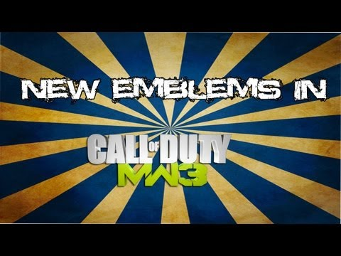 New Titles And Emblems In MW3?
