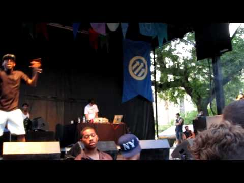 Danny Brown - Die Like A Rockstar - 2012 Pitchfork Music Festival
