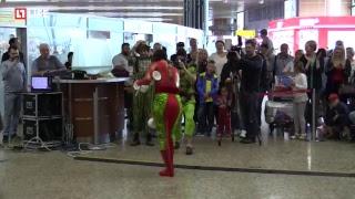 Цирк дю Солей в аэропорту Шереметьево