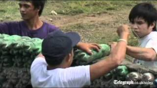 Recycled Bottles Used To Construct Classrooms In Philippines