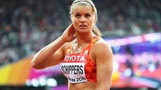 Dafne Schippers 100m London 2017