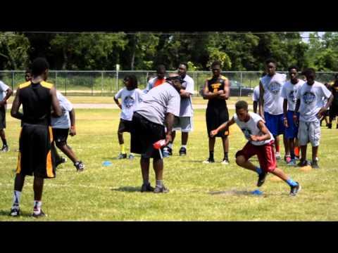 Nick Fairley's Free Football and Cheerleading Camp - 2014