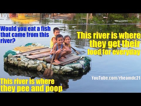 Travel to Manila Philippines and Meet These Kids Who Play in a Dirty River. Philippine Religion