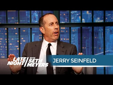 Jerry Seinfeld Is Tired of Political Correctness  Late Night with Seth Meyers