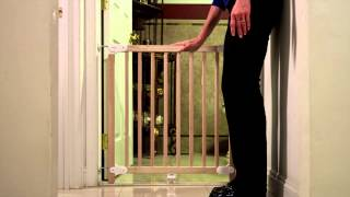 Dreambaby San Siro Stair Gate - How To Fit Video | Babysecurity