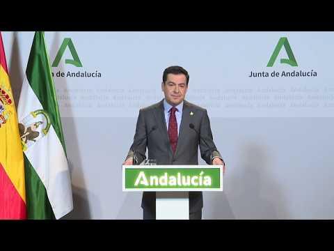 Comparecencia informativa del presidente de la Junta sobre medidas tomadas frente al coronavirus