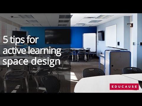 5 Tips for Active Learning Space Design