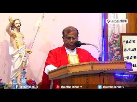 English Mass @ St. Anthony's Shrine, Mettuguda, Sec'bad, TS, IND. 3-5-19