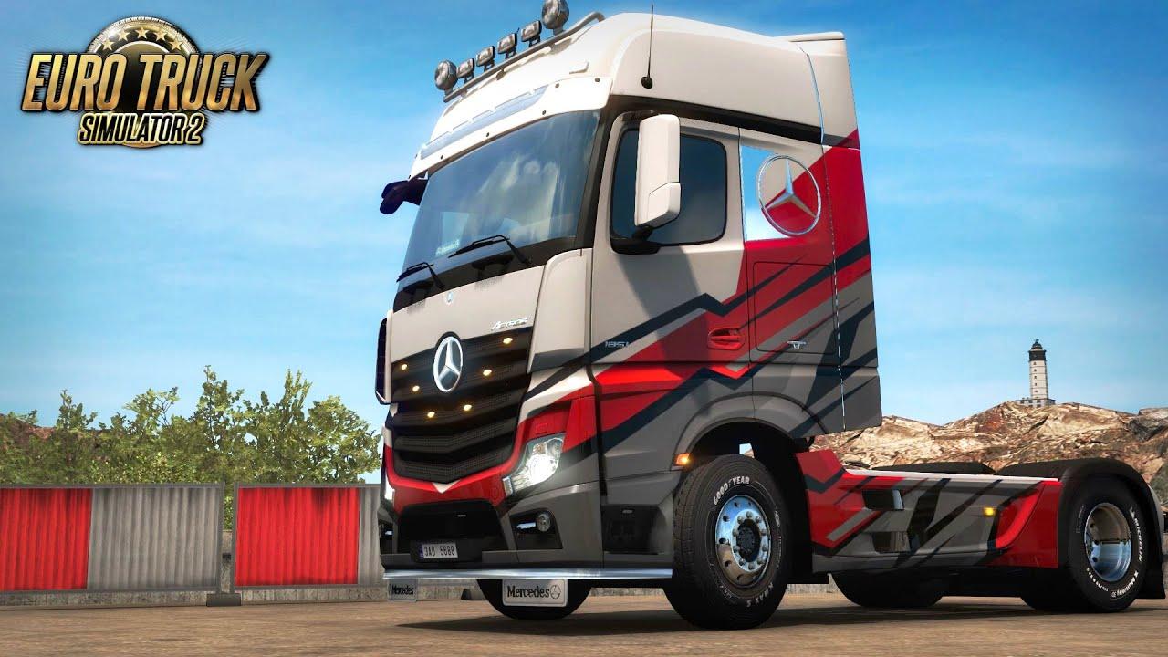 NEW DLC - Super Stripes Paint Jobs Pack | Euro Truck Simulator 2 | Toast