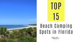 TOP 15. Beach Camping Spots in Florida