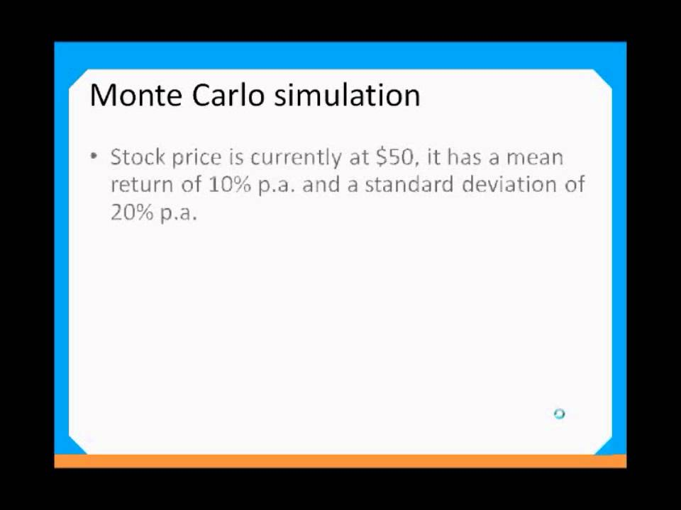Var Thru Monte Carlo Simulation  Youtube