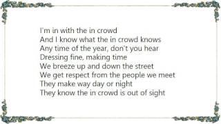 Gregory Porter - The In Crowd Lyrics