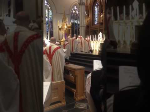 Chrism Mass St Michael's Cathedral 2017