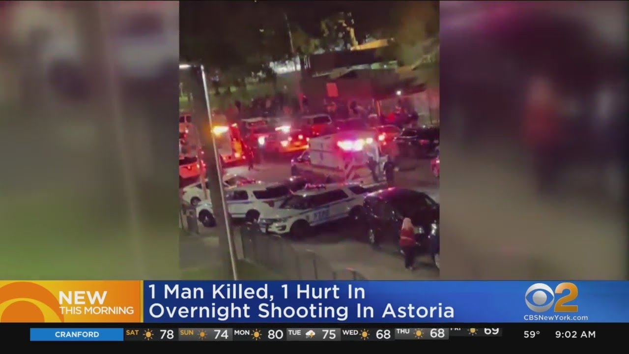 NYPD Investigating Pair Of Deadly Shootings In Queens - CBS New York