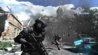 RESIDENT EVIL 6 PS4 mercenaries no mercy as AGENT - requiem for war