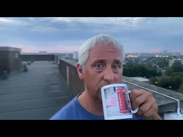 Brew With A View -Nicky, London & Nottinginham Protests, trolls, support, giving of food parcels