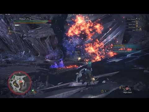 [MHW] - Arch-tempered Lunastra (Lance Take #1 - When Blue Dust Surpasses  Red Lust)