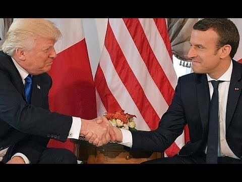 Trump I'd love to rejoin Paris climate change accord