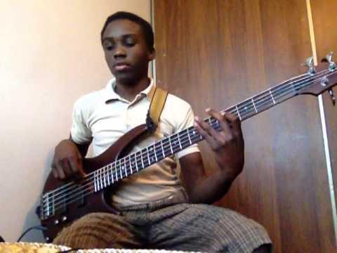 """Kirk Franklin- A God Like You """"bass Guitar"""""""
