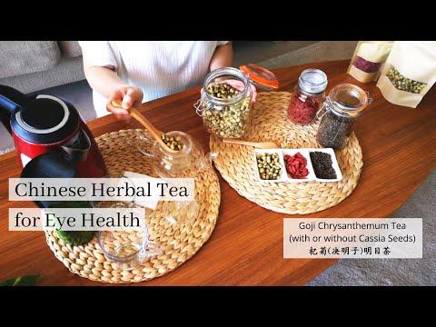 Chinese Herbal Tea for Eye Health - Goji Chrysanthemum Tea (