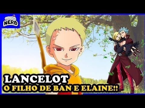 NANATSU NO TAIZAI - O FILHO DE BAN E ELAINE APARECEU ...