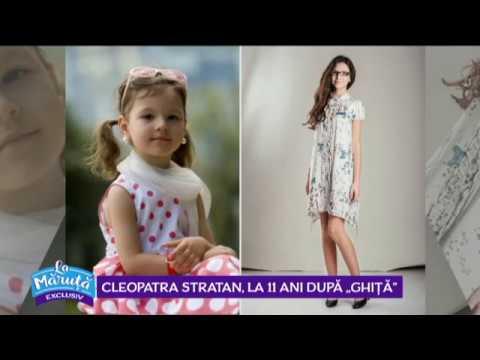 Cleopatra Stratan, la 11 ani dupa