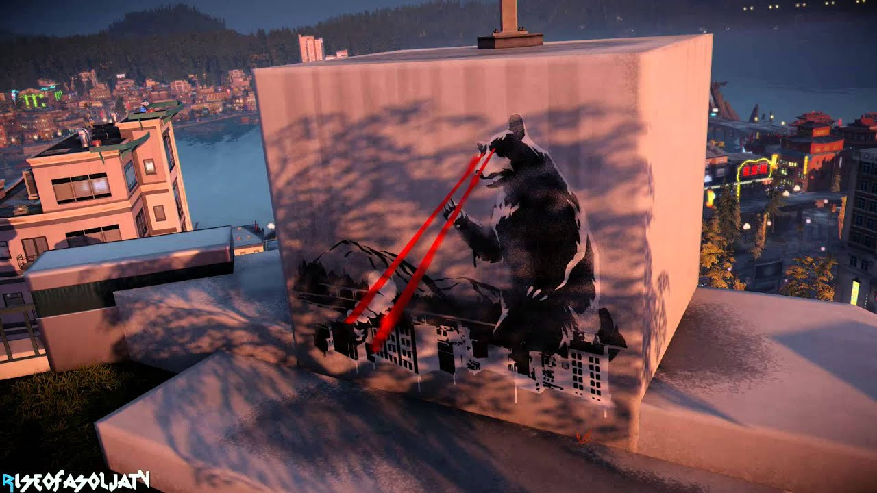 How To Spray Paint Infamous Second Son