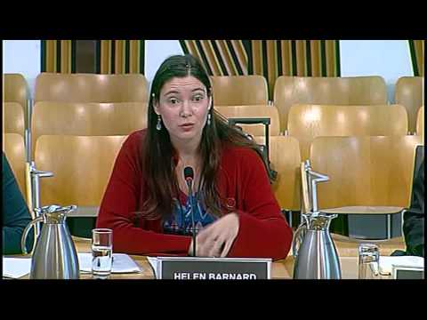 Equal Opportunities Committee - Scottish Parliament: 12th November 2015