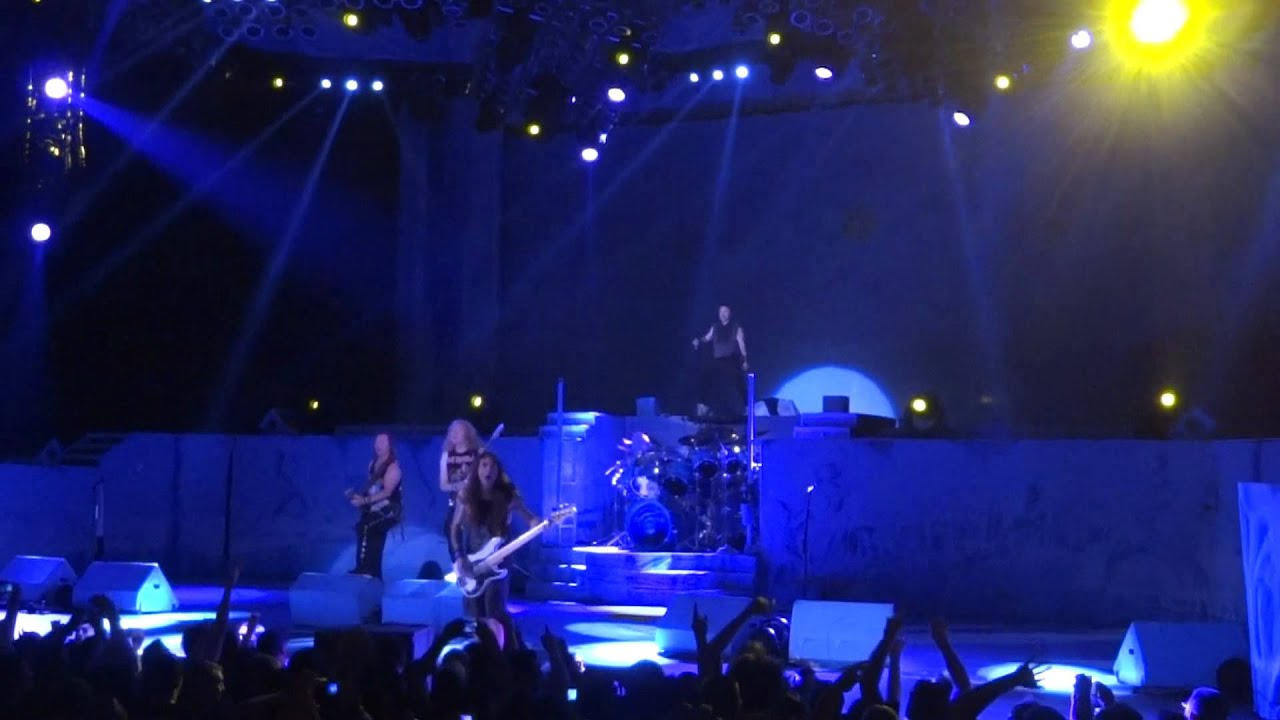 Iron Maiden Fear Of The Dark Live In Irvine 8 9 12 Youtube