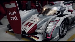 Audi R18 2013 Ultra Chair Cool Commercial Design Miami Carjam TV HD