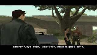 GTA SA : GTA 3 Character Claude In GTA SA