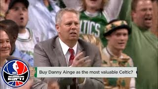 Is Danny Ainge the most valuable Celtic? | NBA Countdown | ESPN