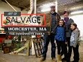 Flea Market Flip Ideas and Salvage Art (FARNSWOOD Tour- Worcester, MA)