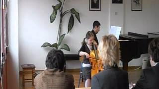 Seitz Concerto No. 5, 1st Movement - cello