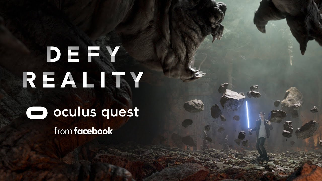 Oculus Quest | Reality Meets Virtual Reality