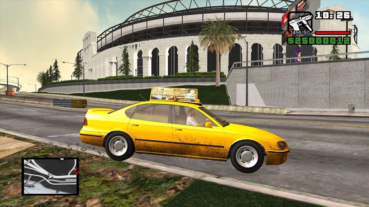 GTA 5 & GTA 4 MAPS IN GTA SAN ANDREAS (GTA VxIV2SA Beta 2