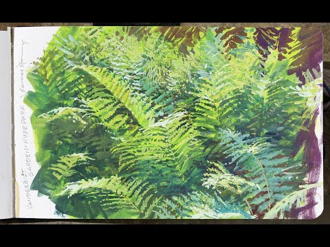 Painting Ferns with James Gurney