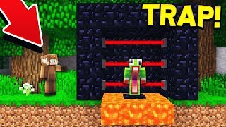 THE MOST ANNOYING MINECRAFT TROLL! (Minecraft TROLL WARS #13)