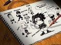аниме Как научится рисовать аниме глаза? Как рисуют мангу ? смотреть бесплатно