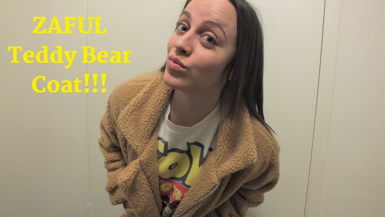 various styles info for meet Zaful Teddy Bear Coat review - YouTube